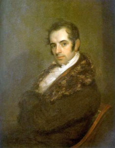 Portrait of Washington Irving by John Wesley Jarvis, 1809